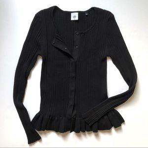 Cabi Party Cardi Cardigan Sweater M Black 5287